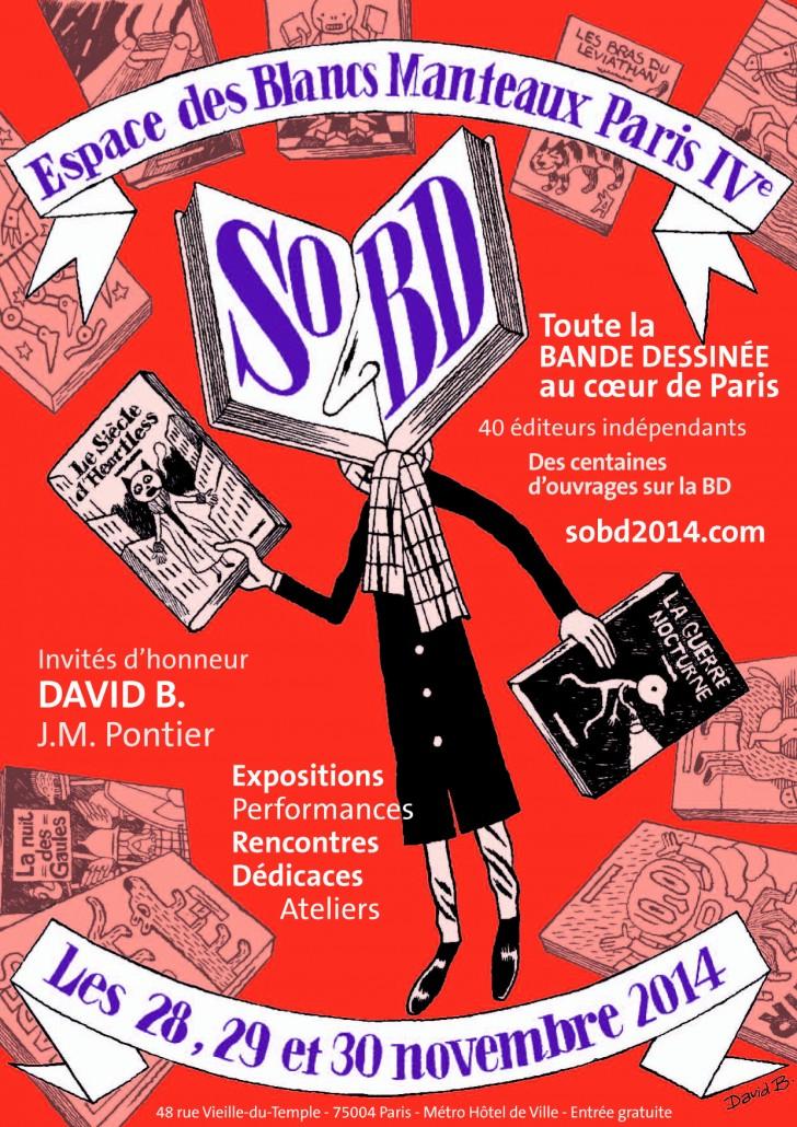 SoBD 2014 - L'Affiche