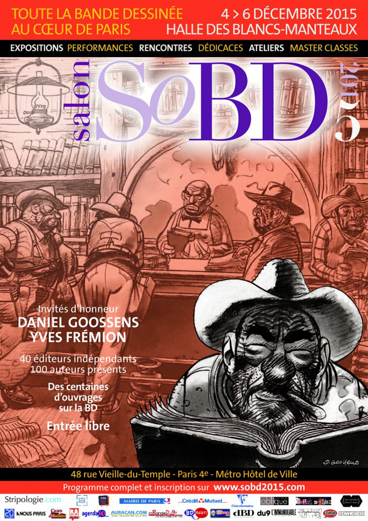 SoBD 2015 - L'Affiche