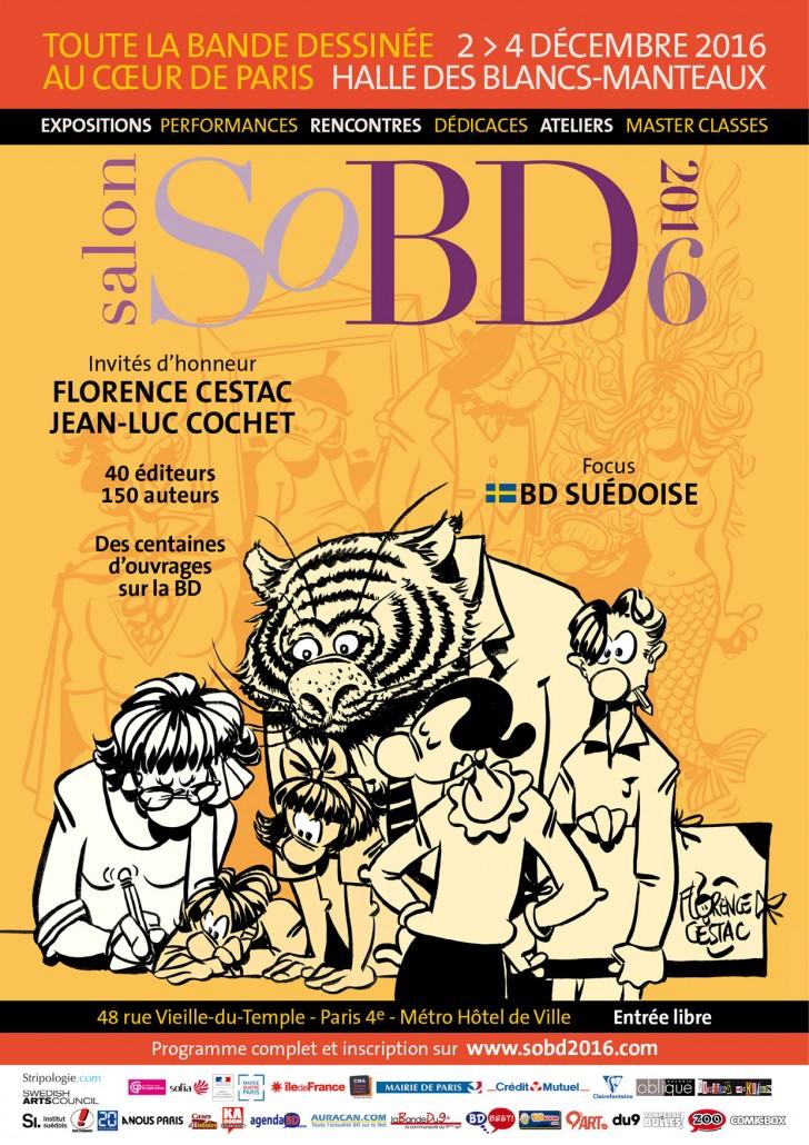 SoBD 2016 - L'Affiche