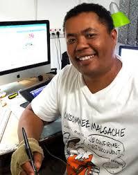 Pov, dessinateur malgache