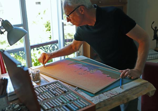 Master Class SoBD 2020 - Miles Hyman dans son atelier