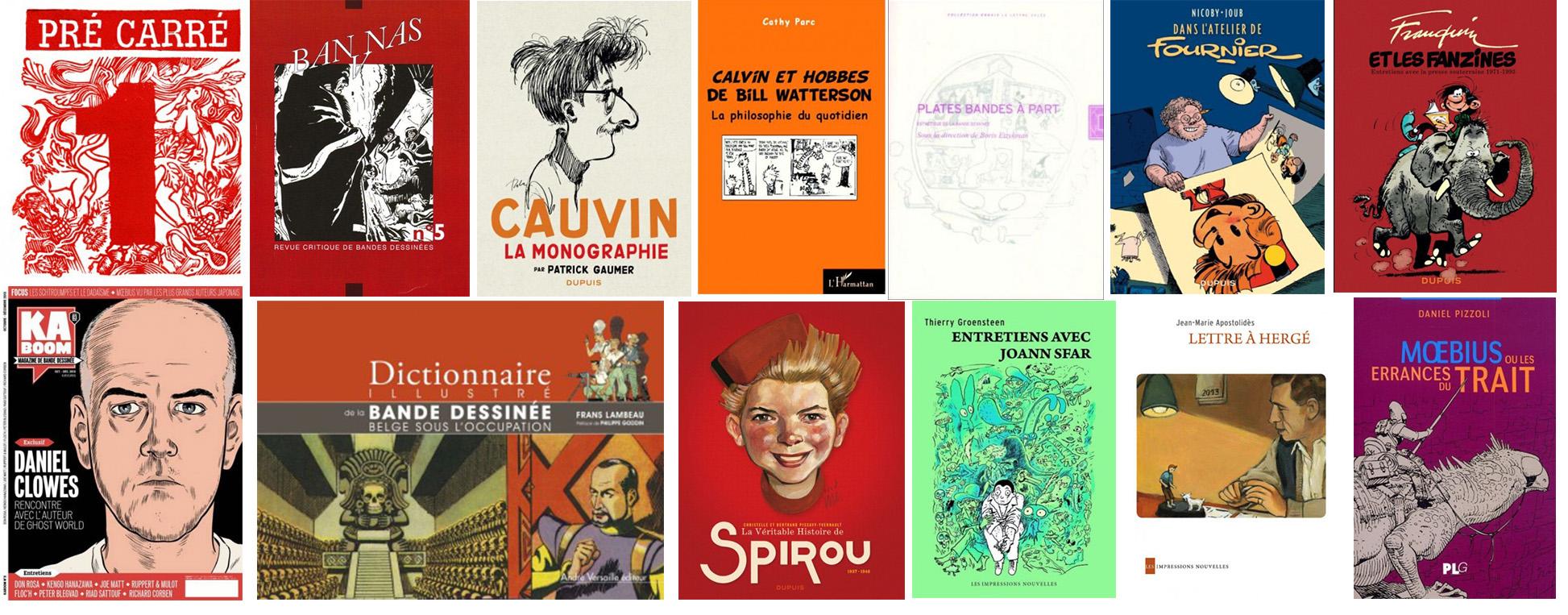 Les ouvrages de la Revue de littérature 2013