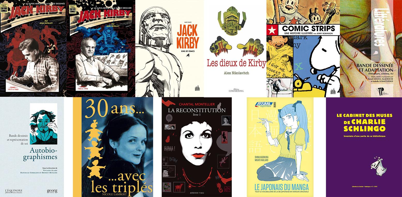 Les ouvrages de la Revue de littérature 2015