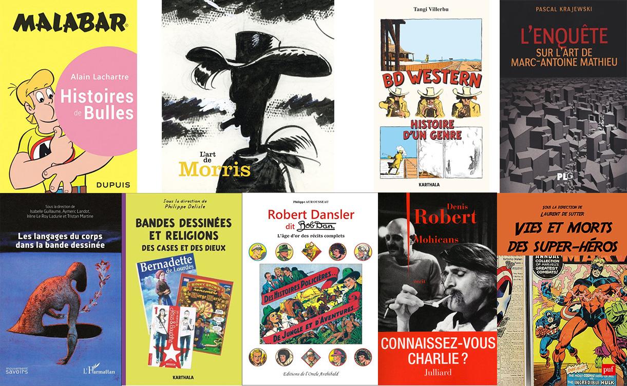 Les ouvrages de la Revue de littérature 2016