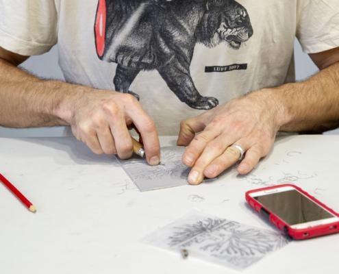 Atelier Linogravure sur le SoBD 2019