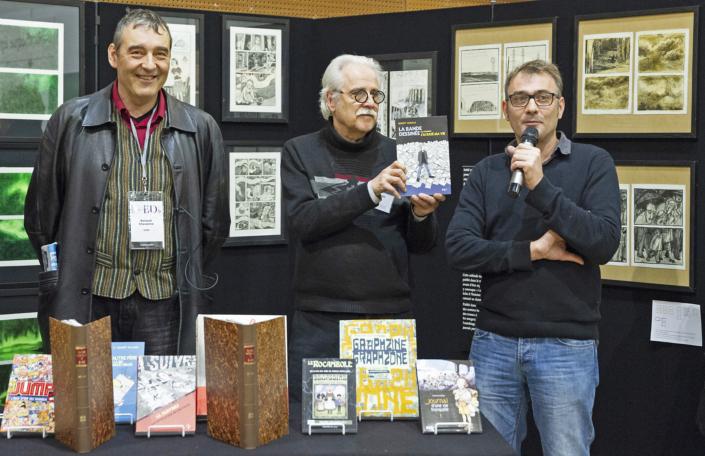 Renaud Chavanne, Yves Frémion et Benoît Barale