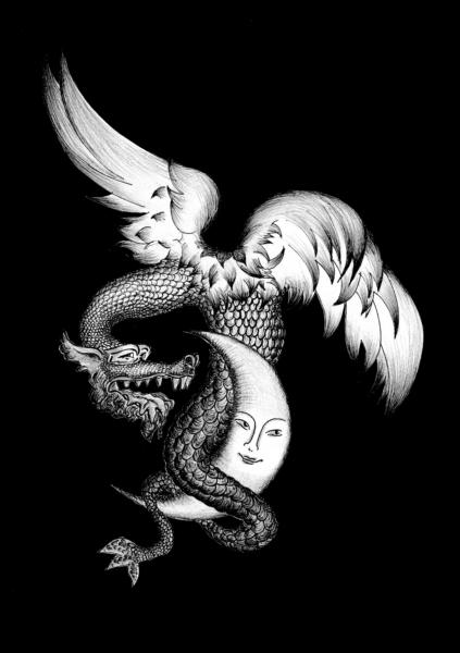 Atelier BD 54 -Le Dragon et la Lune - Catherine Belier