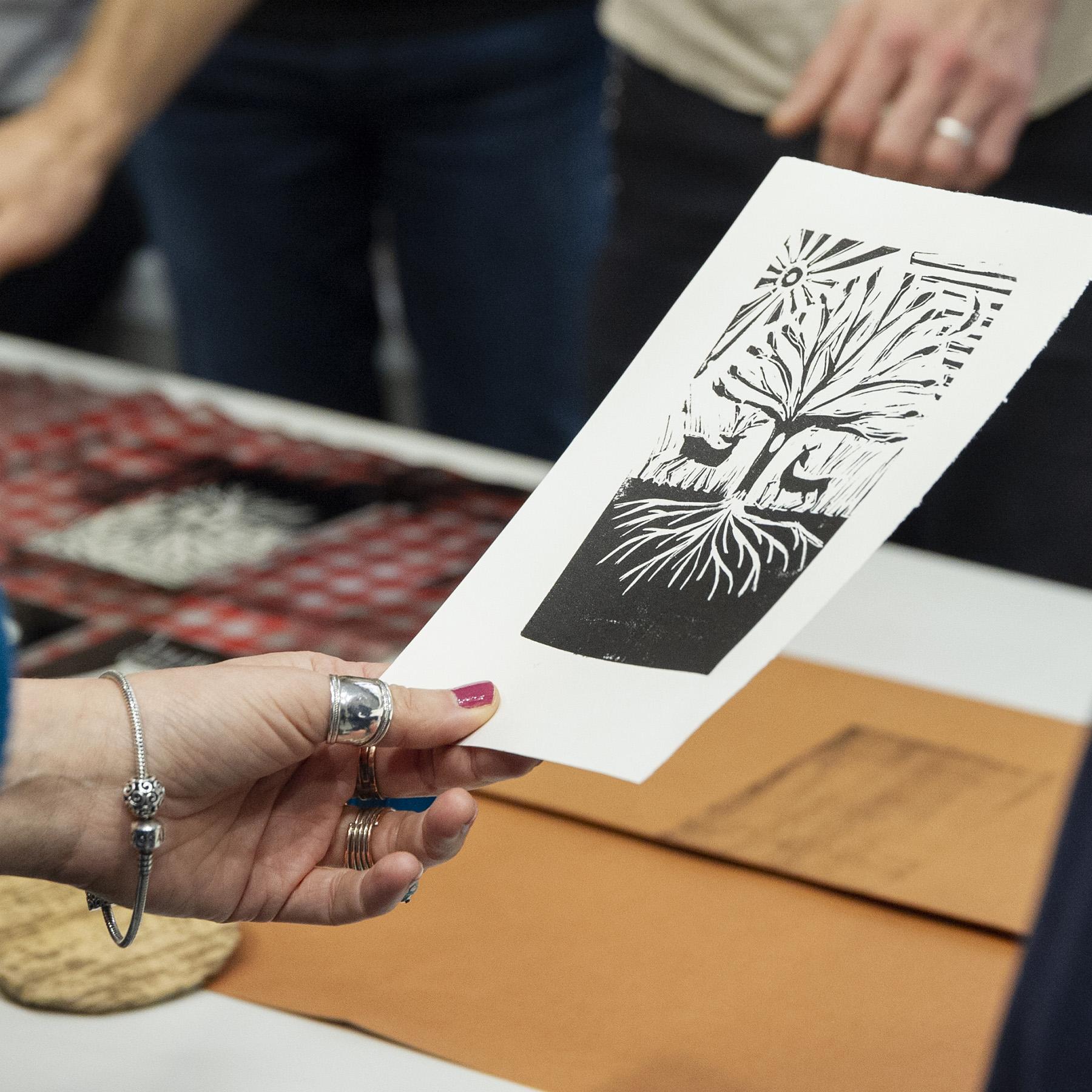Atelier Linogravure et illustration