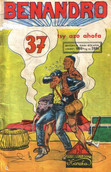 Couverture du numéro 37 Benandro