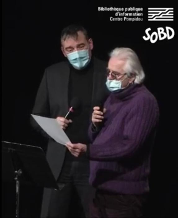 SoBD 2020, remise du Prix Papiers Nickelés SoBD