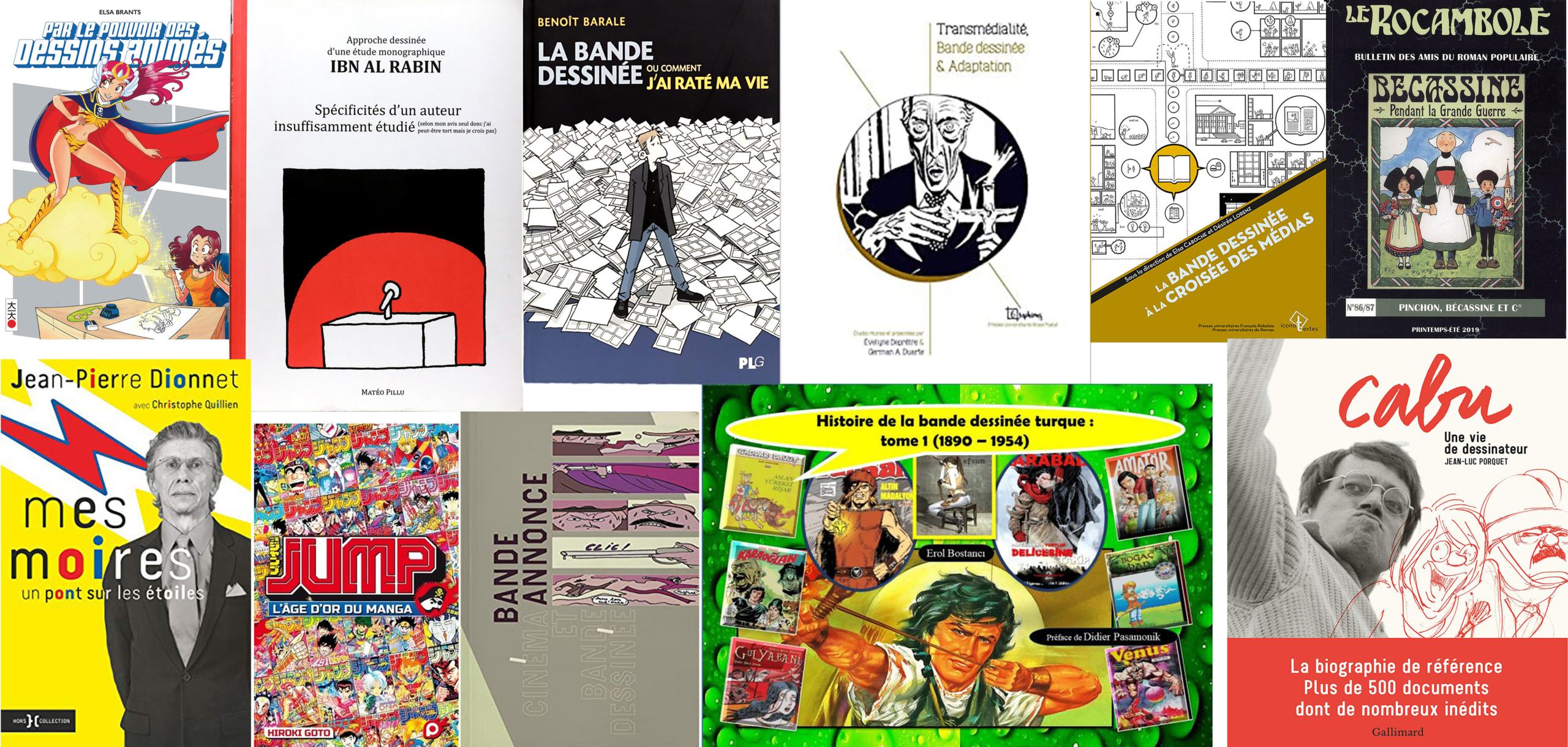 Les ouvrages de la revue de littérature 2019