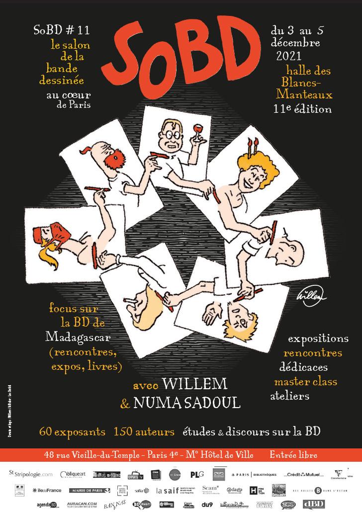 SoBD 2021 - L'Affiche